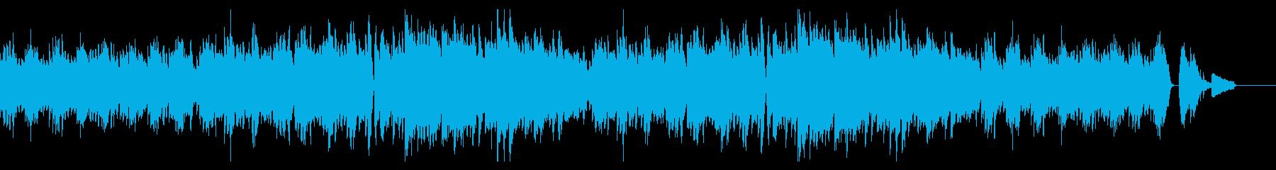 秋の童謡「もみじ」のオリジナルアレンジの再生済みの波形