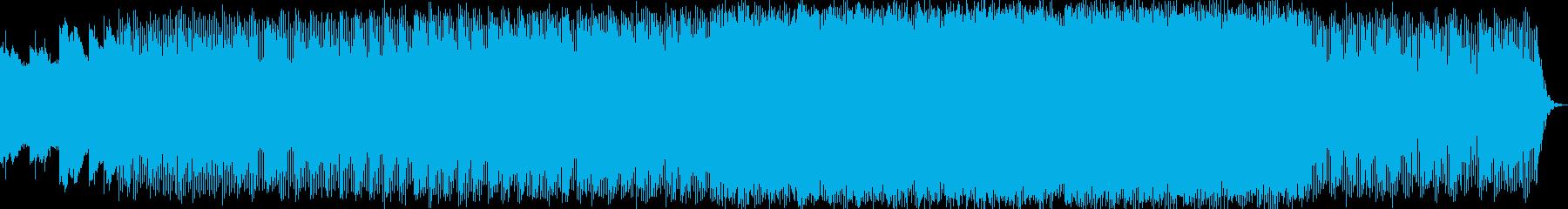 幻想的で優しいエレクトロニカハウスの再生済みの波形