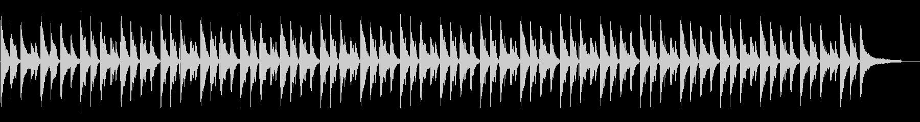 ピアノがきれいなチルホップの未再生の波形