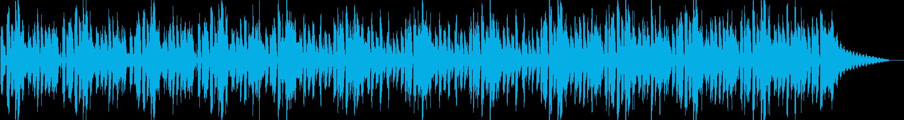 エレピとアコギの軽快なんの再生済みの波形