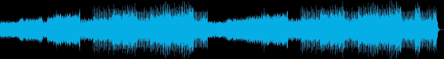 少し深い雰囲気を出したインストの再生済みの波形