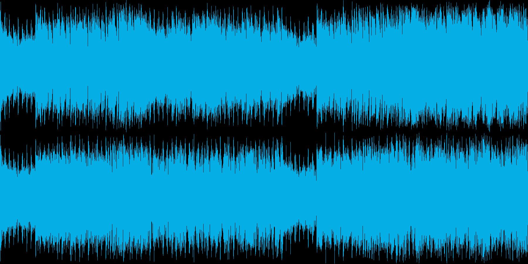パーティー感のあるEDMの再生済みの波形
