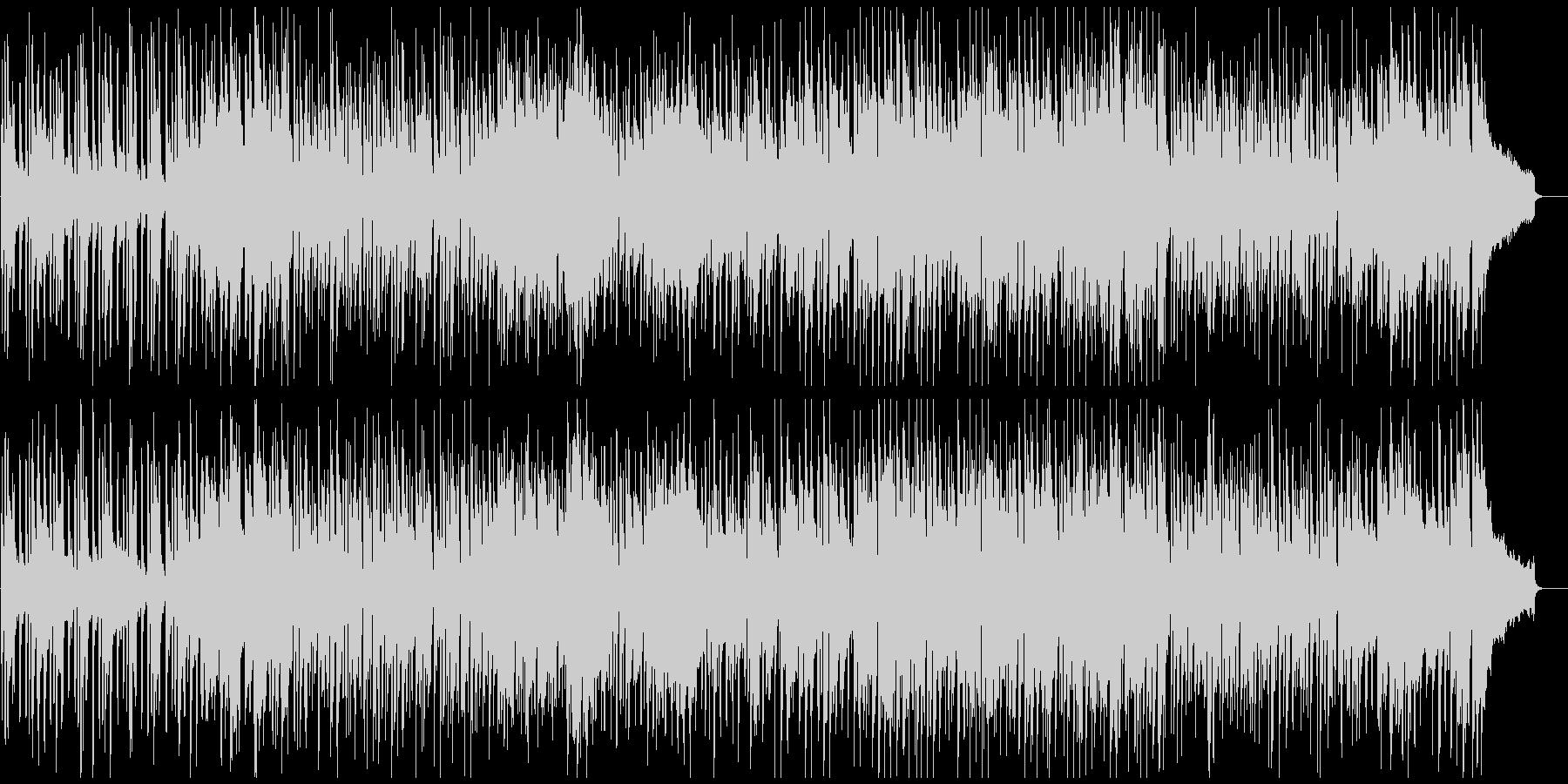管楽器ファンク、ノリノリ、サックス生演奏の未再生の波形