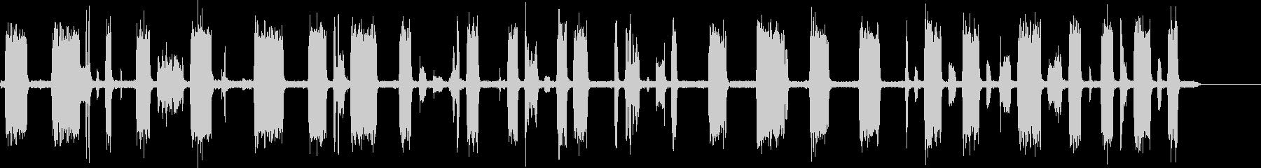 TV-スキャナーをスキャンするチャンネルの未再生の波形