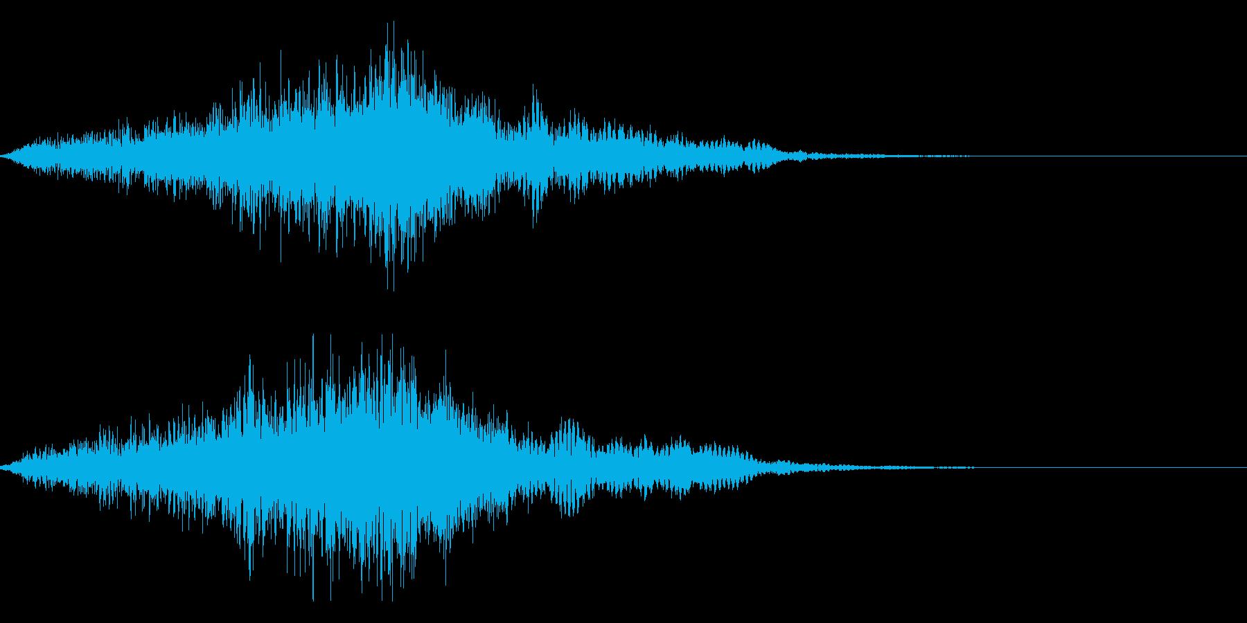 映画・映像用サウンドロゴ004の再生済みの波形