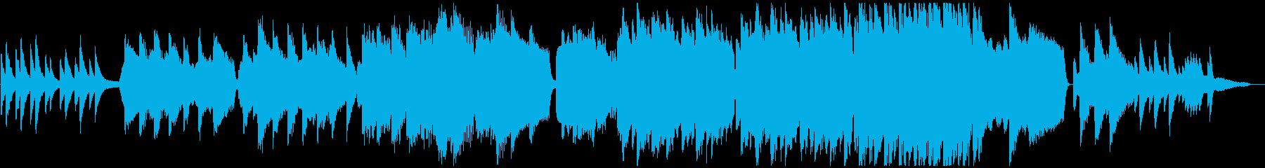 ヴァイオリンとピアノによる『仰げば尊し』の再生済みの波形