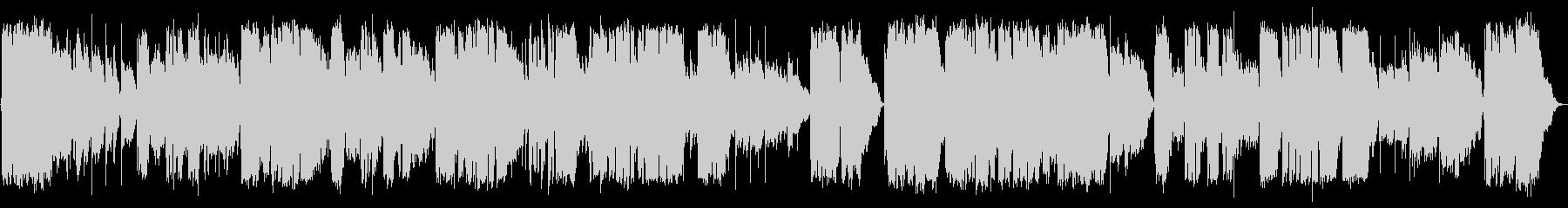 英語洋楽:ポール風・清楚な多声バラードの未再生の波形