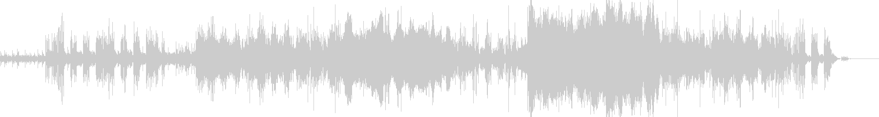 チャイコフスキー 上品なエレクトロ CMの未再生の波形