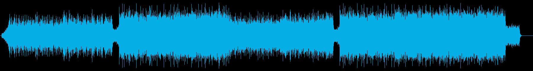ピアノメロが印象的Future Bassの再生済みの波形