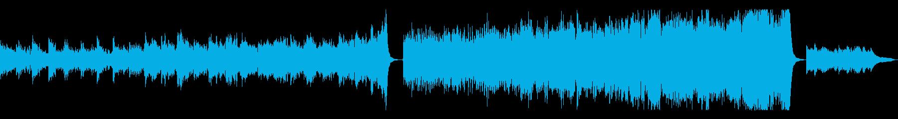 ドキュメンタリー系向け力強いオーケストラの再生済みの波形