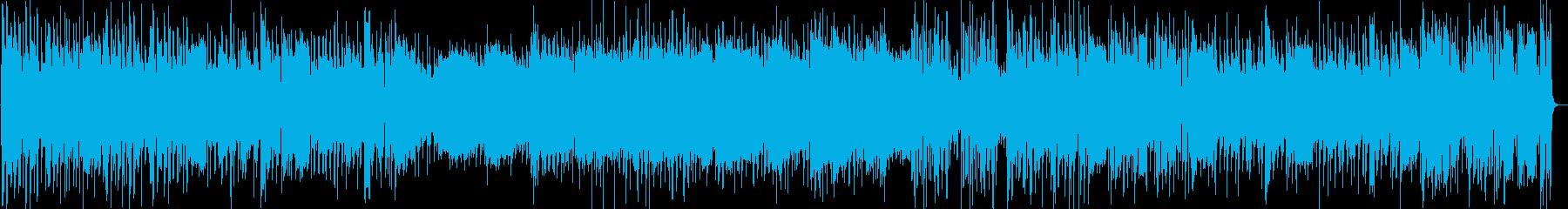 スピード感のあるアコースティックサウンドの再生済みの波形