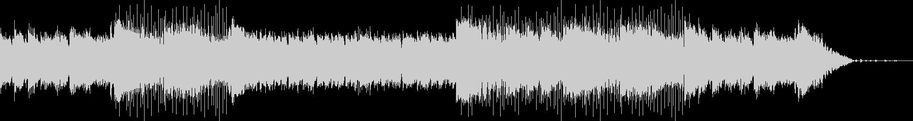 穏やかな生演奏アコギによるボサノバの未再生の波形
