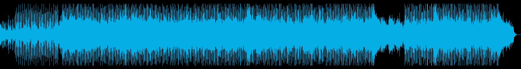 企業VP・疾走感あるロックテイストEDMの再生済みの波形