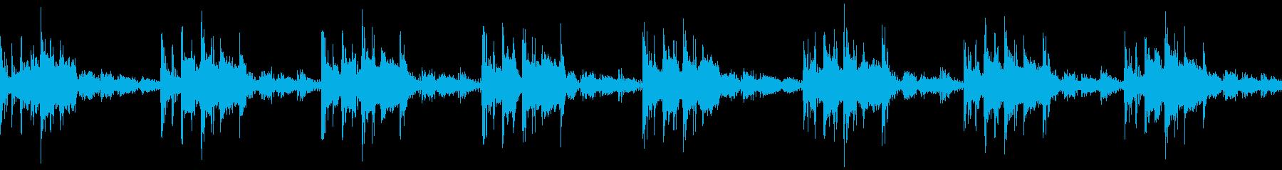 Robot / SF game loop BGM1's reproduced waveform