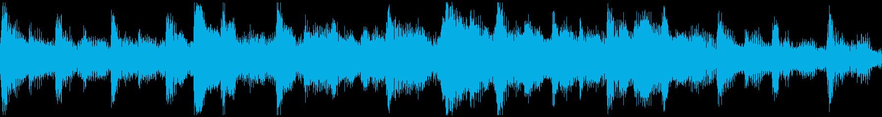 <ショートループ> ピアノ④+ビートBの再生済みの波形