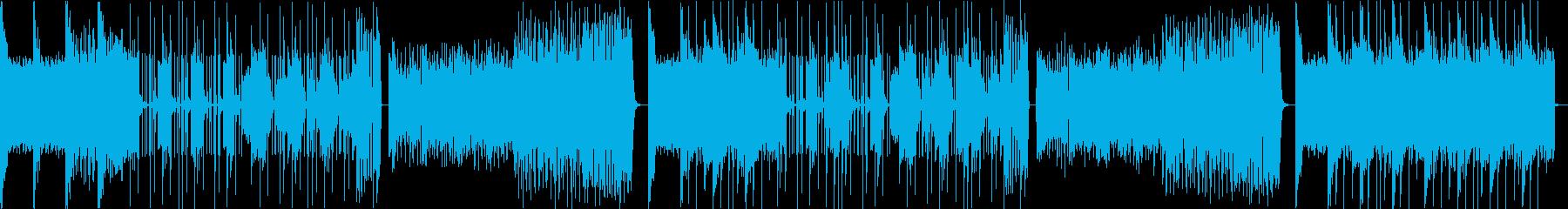 Kpop・ダークエキサイティングトラップの再生済みの波形