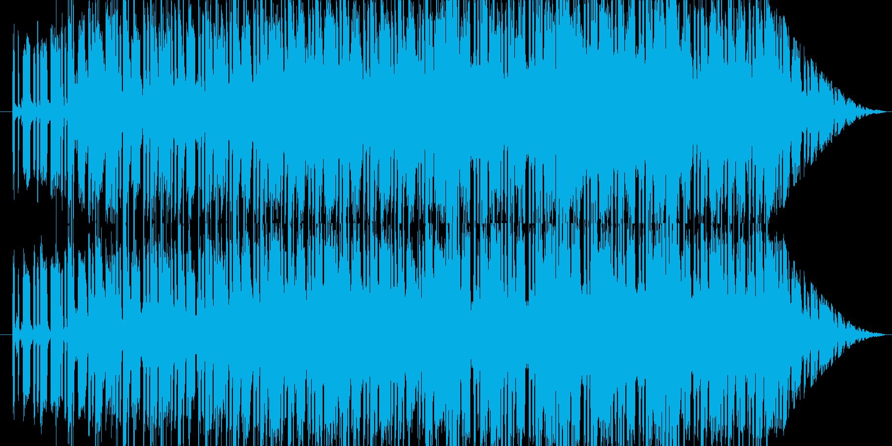 薄暗いダンジョンを探検しているイメージ…の再生済みの波形