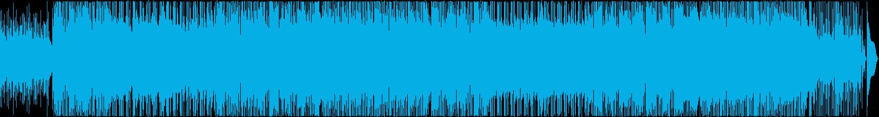 眩しい光を感じる16ビートフュージョンの再生済みの波形
