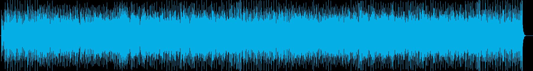 明るくも少し切ないエレポップチューンの再生済みの波形