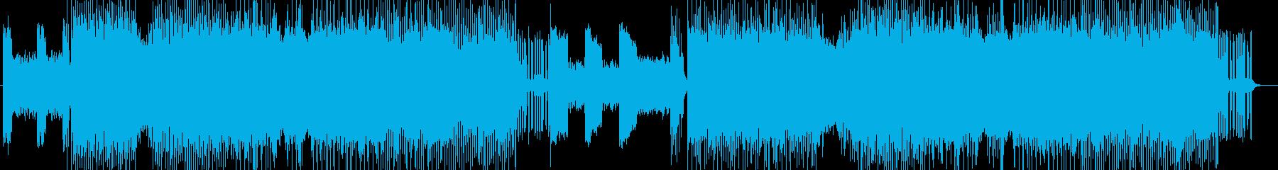 「HEAVY METAL」BGM215の再生済みの波形