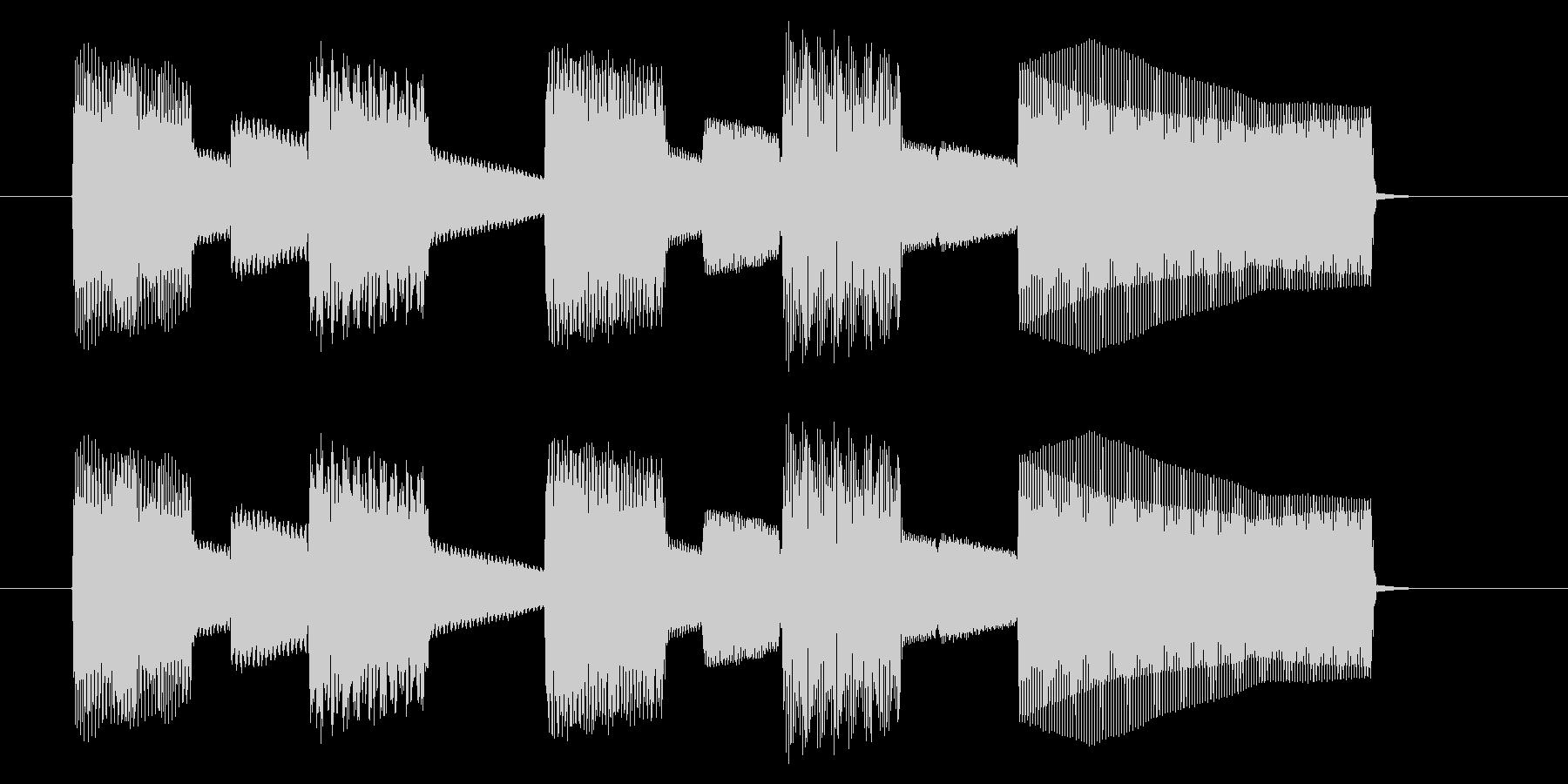 NES スポーツ A03-2(クリア2)の未再生の波形
