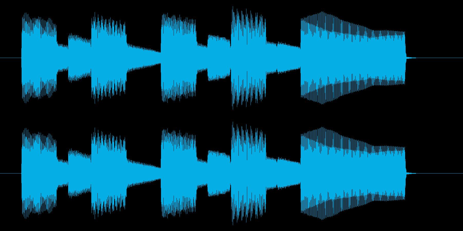 NES スポーツ A03-2(クリア2)の再生済みの波形