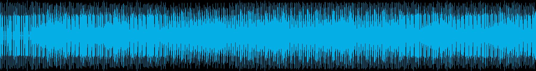 幻想的な魔法の国的なスローダウンビートの再生済みの波形