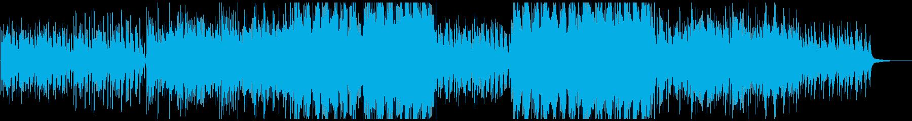 ピアノとドラムの静かな躍動感の再生済みの波形