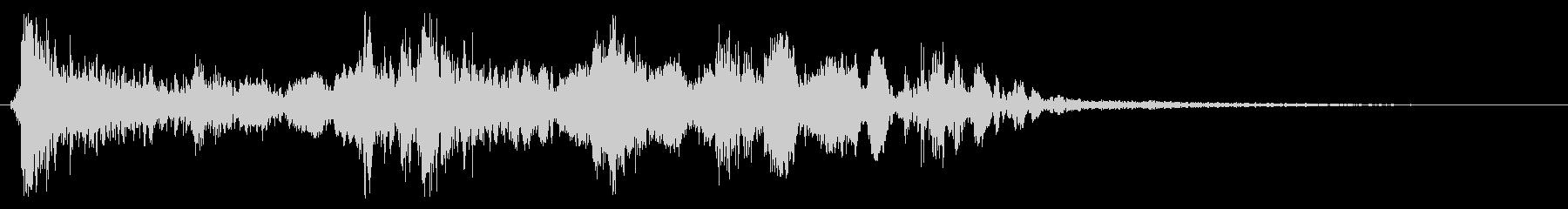 ドンガラガッシャン(静かめ)の未再生の波形