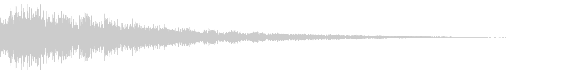 AnimeFX ゲゲゲな雰囲気の妖怪SEの未再生の波形