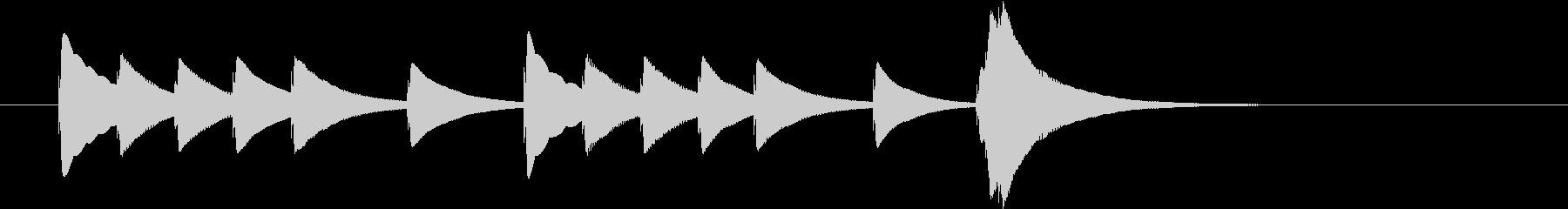 夏効果音_南国の夕べ02の未再生の波形