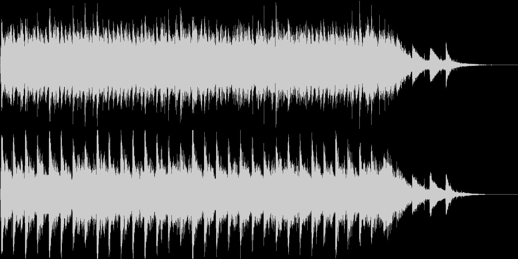 【ピアノ】ピアノアンビエント系のジング…の未再生の波形