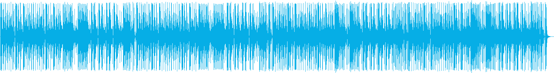 YouTube アコギ・木琴・軽快の再生済みの波形