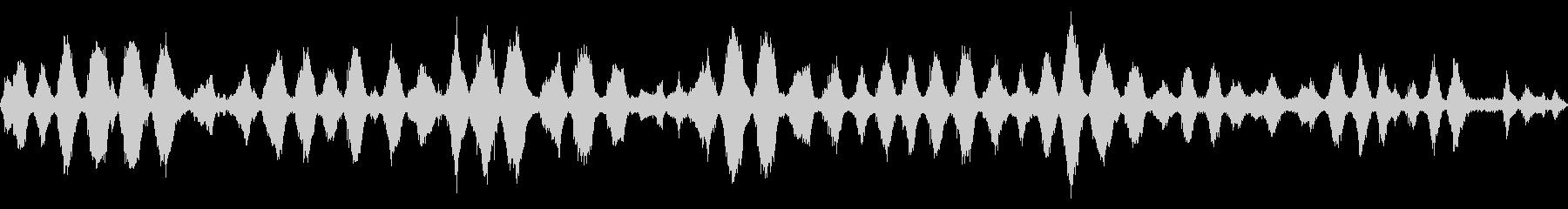 波の音 【大浜海岸、徳島、秋、昼】の未再生の波形