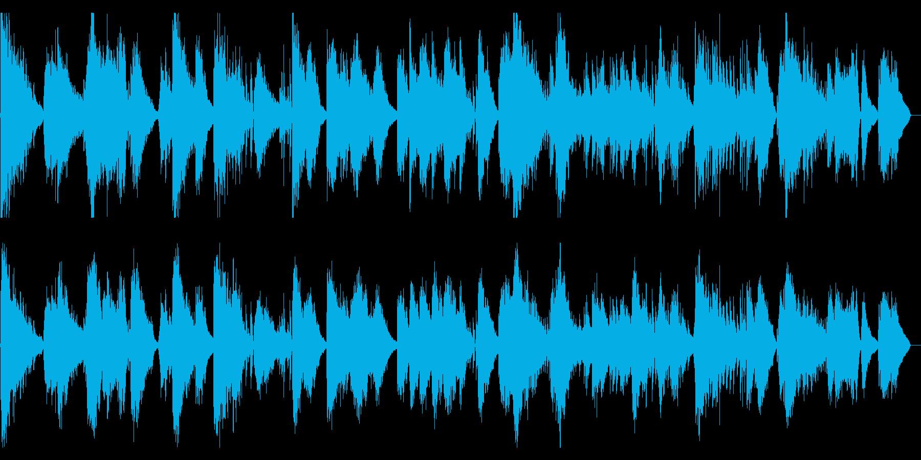 和風BGMです。の再生済みの波形