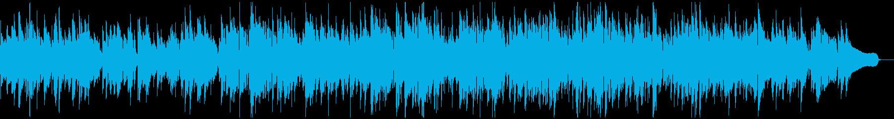 ふんわり優しいジェントルなソフトジャズの再生済みの波形