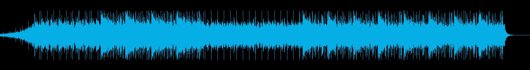 少し儚いローファイエンディングですの再生済みの波形