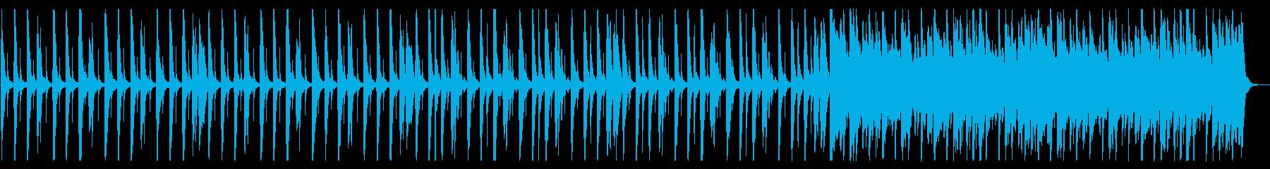 賑やかしくポップなBGM_No617_2の再生済みの波形