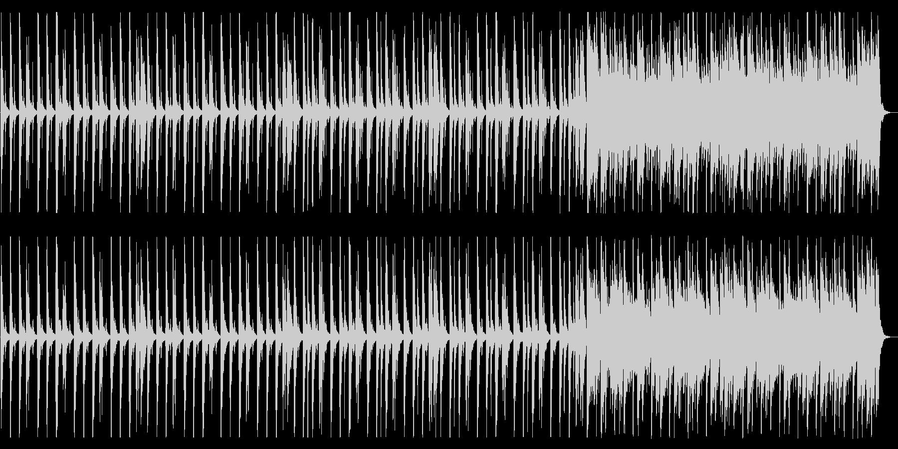 賑やかしくポップなBGM_No617_2の未再生の波形