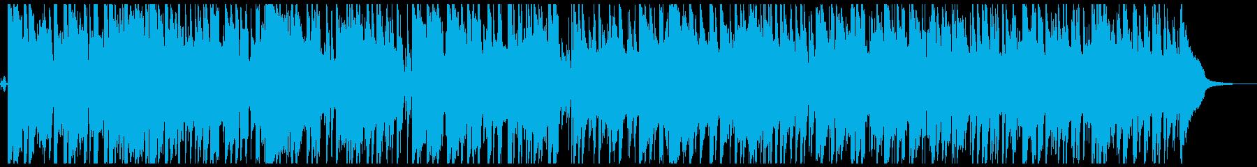 ハミングボーカルのある陽気でポジテ...の再生済みの波形