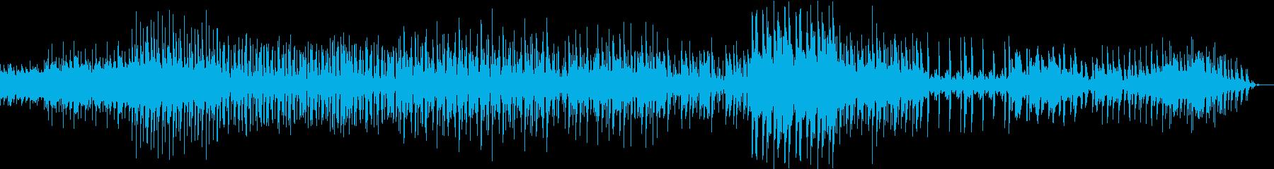 ラテン 物憂げ 奇妙 エキセントリックの再生済みの波形