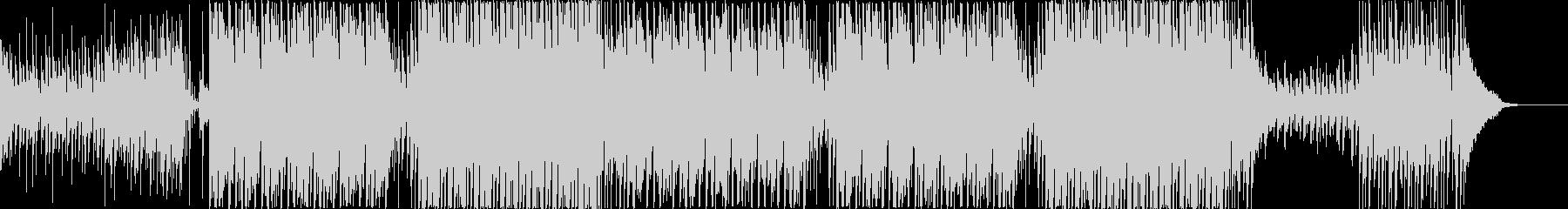 トロピカルで明るいさわやかEDMの未再生の波形