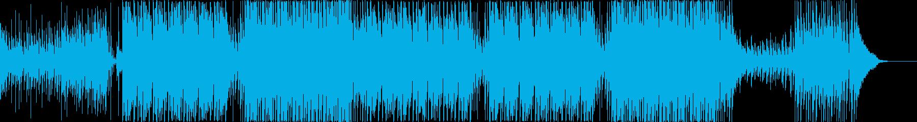 トロピカルで明るいさわやかEDMの再生済みの波形