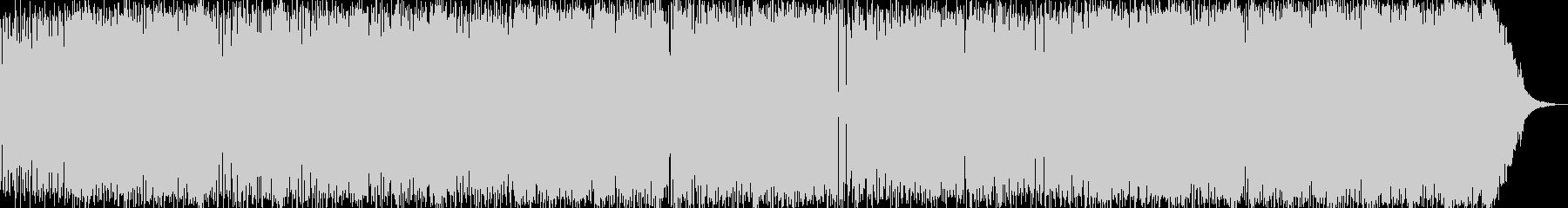 スキャットソウルジャズの未再生の波形
