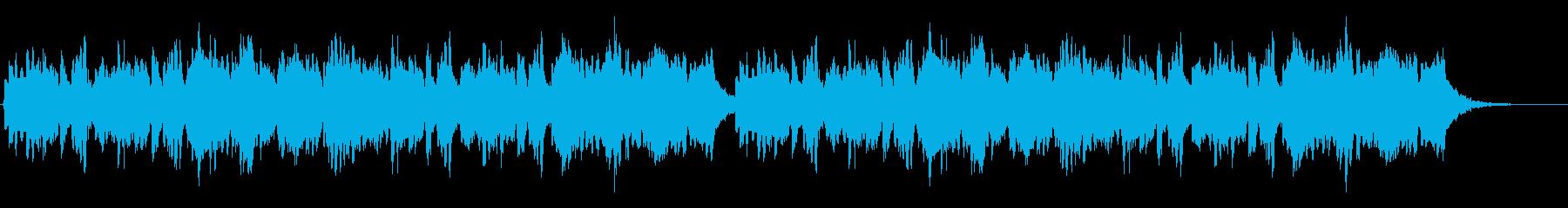 明るく可愛いピッコロとキラキラシンセの再生済みの波形