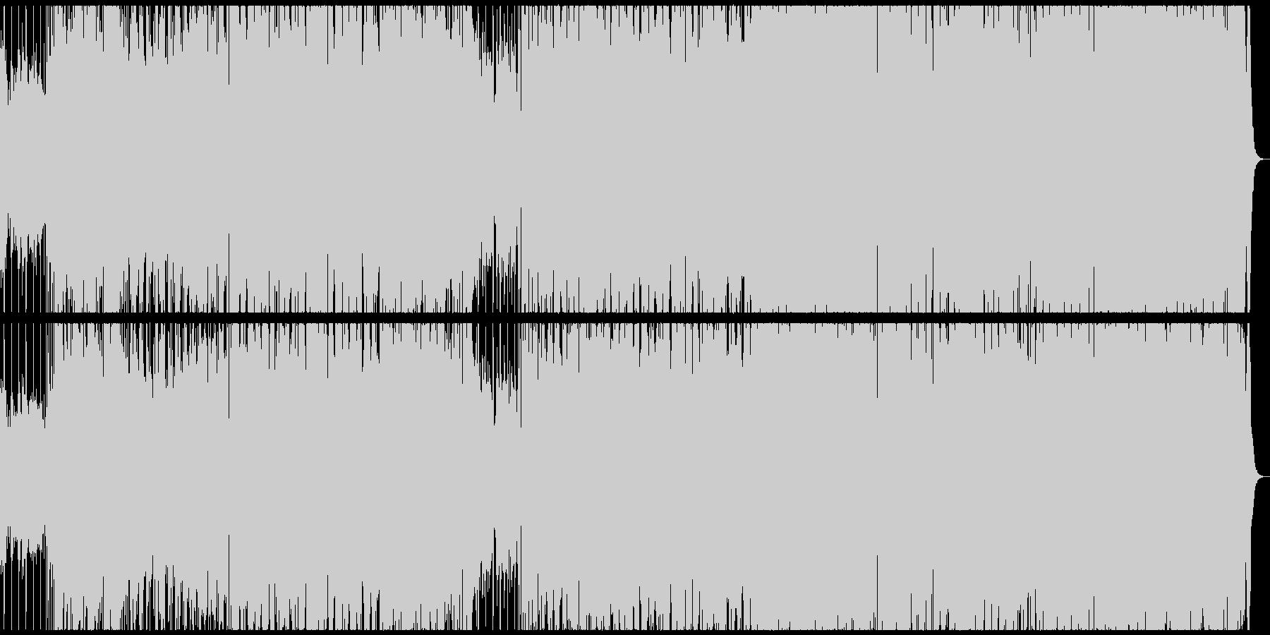 X'masの定番曲をポップにアレンジの未再生の波形