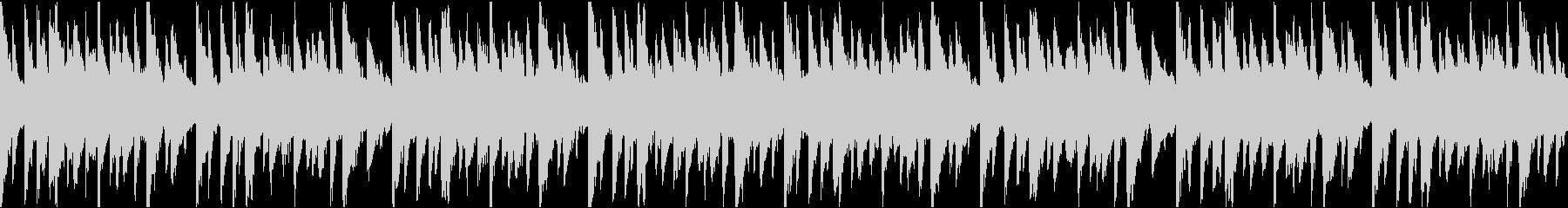 ループ曲 キラキラしたトキメキのリゾートの未再生の波形
