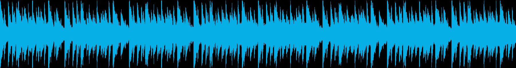 ループ曲 キラキラしたトキメキのリゾートの再生済みの波形