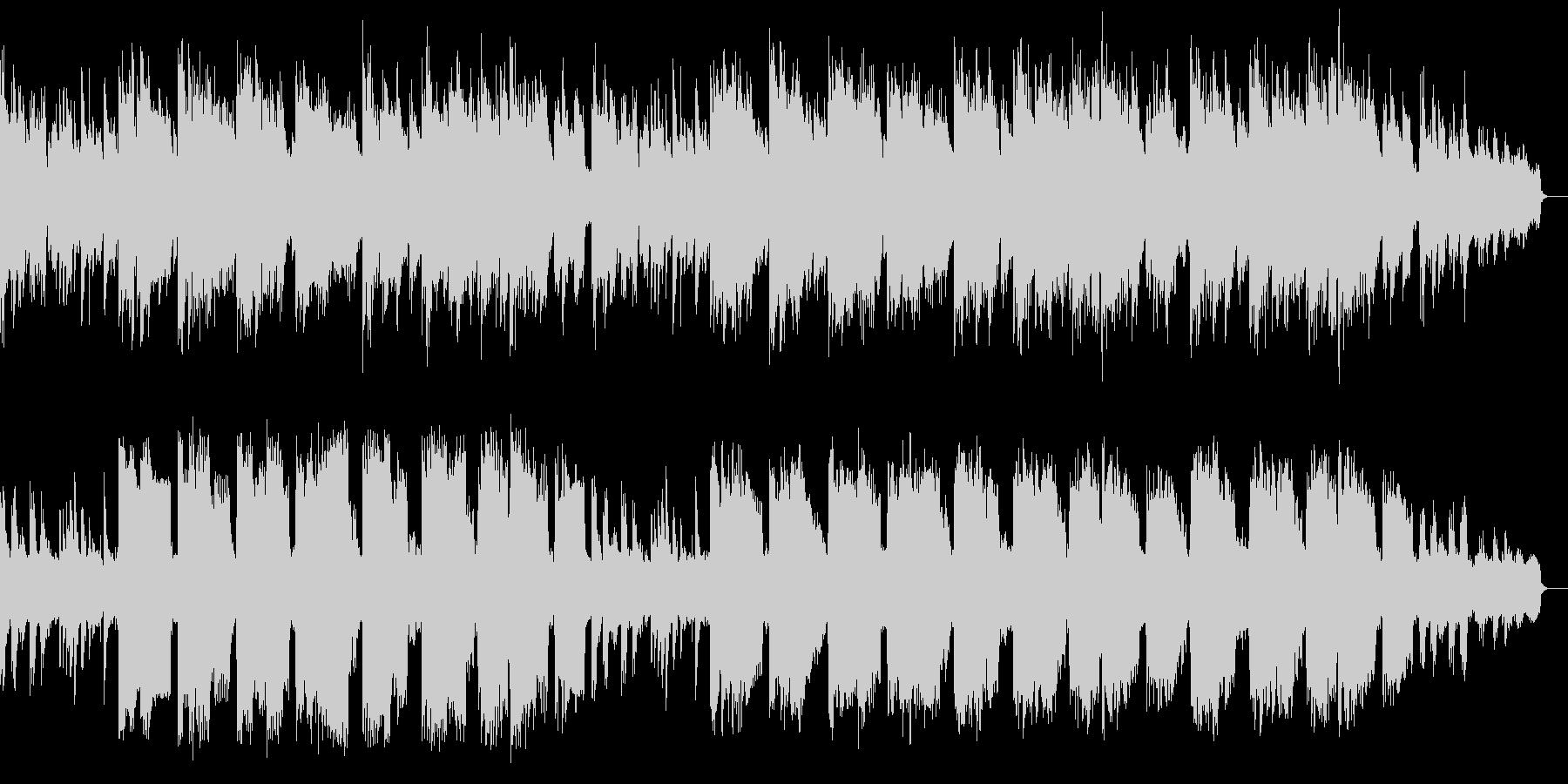 ピアノによる大人の優しい子守唄の未再生の波形