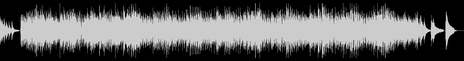 エンディング風、切なく感動的なピアノ曲の未再生の波形